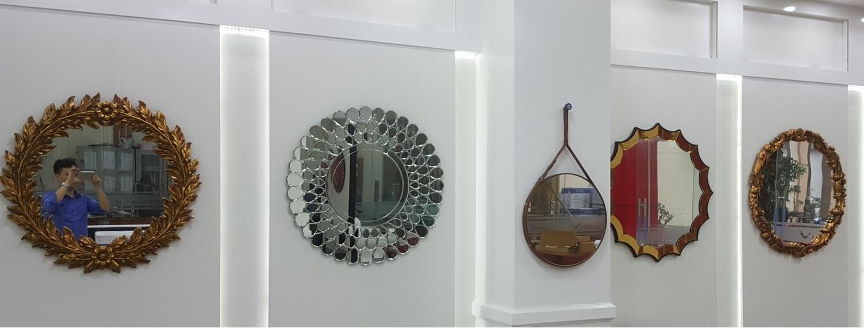 Đặt gương treo tường nghệ thuật