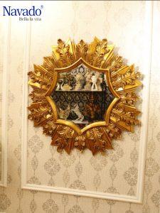 Gương trang trí phòng khách Pan